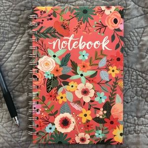Pretty Floral Notebook Journal